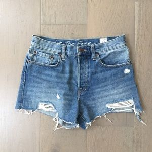 Free People denim cutoff shorts 27
